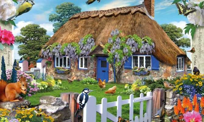 Country Cottage Collection Wisteria Adult Puzzles