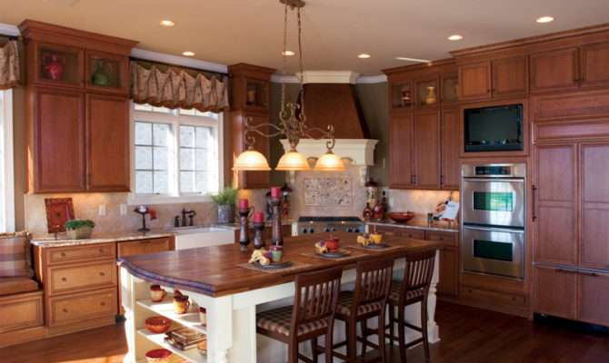 Country French House Plan Kitchen Plans