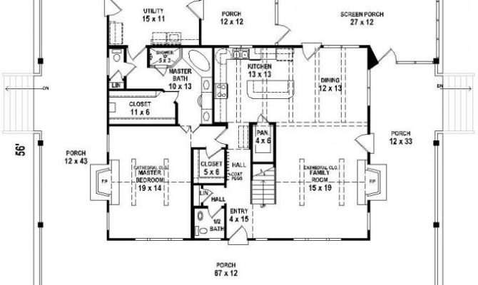 Country Home Floor Plans Wrap Around Porch Luxury