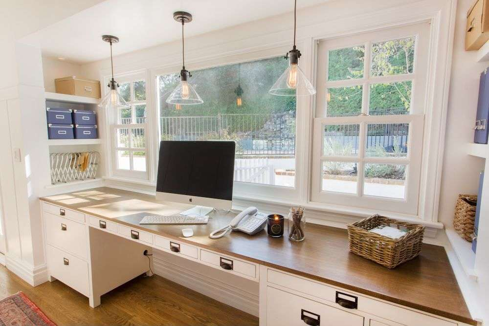 Country Home Office Laminate Floors Thea Segal