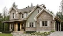 Country House Plan Love Exterior Stories Attached