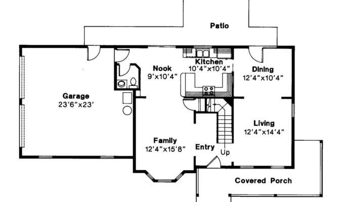 Country House Plan Sedgewicke Floor