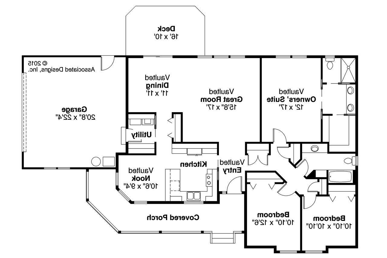 Country House Plans Briarton Associated Designs