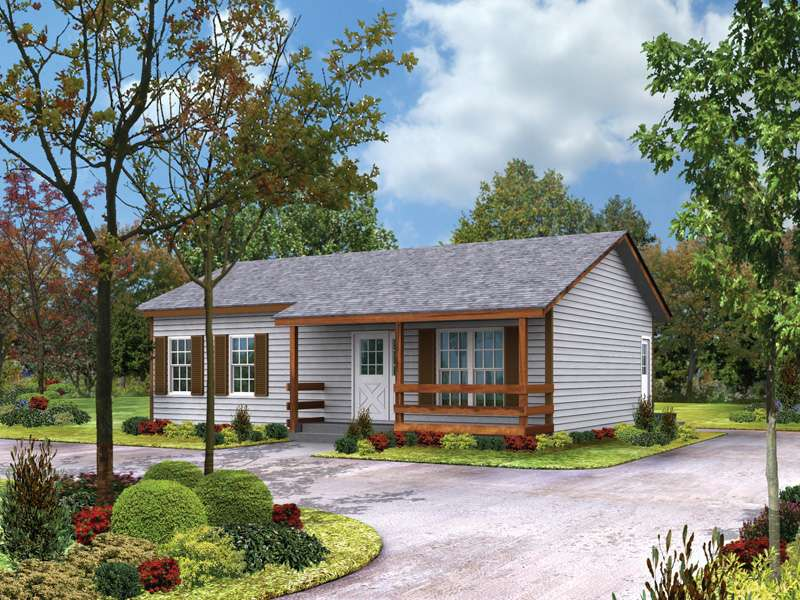 Country House Plans Cabin Cottage Ranch