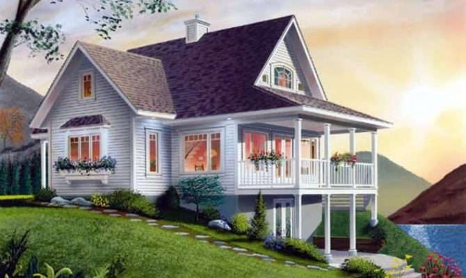 Country House Plans Small Cottage Lake