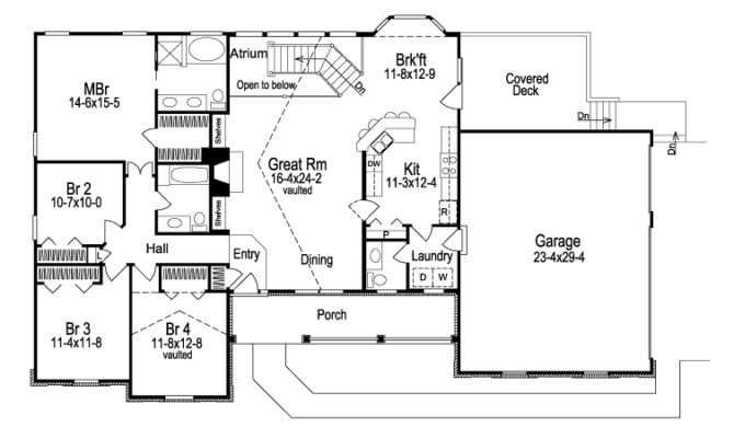 Country House Plans Traditional Ranch