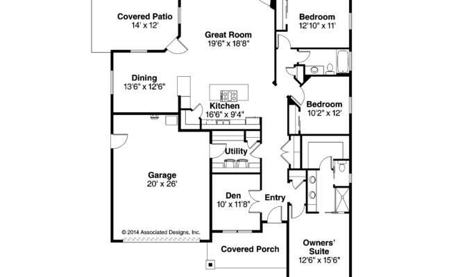 Country House Plans Westfall Associated Designs