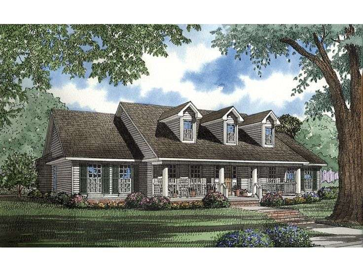 Country Houses Home Plans Floors Dreams House