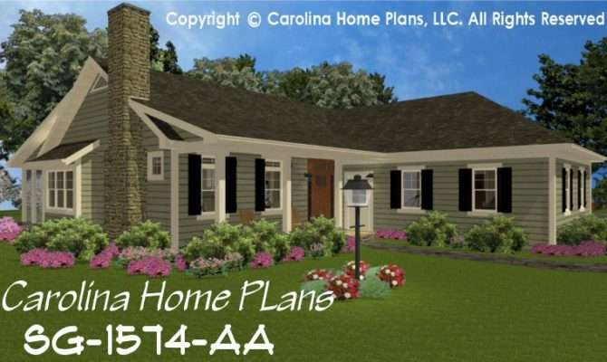 Country Style House Plan Affordable Small Home