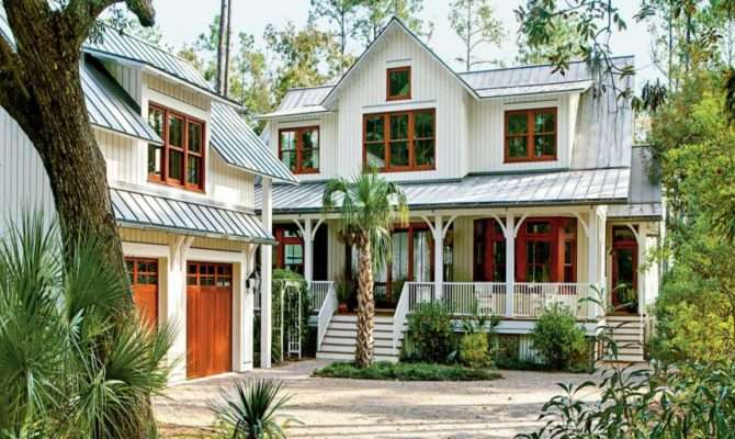 Country Style House Plans Southern Low