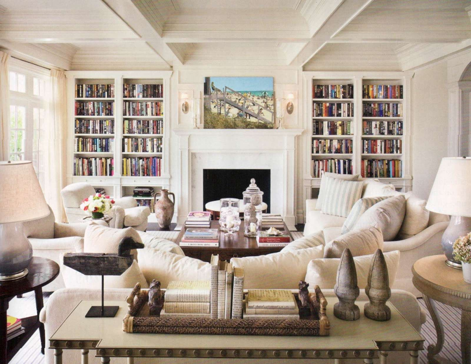 Country Style Living Room Furniture House Remodeling