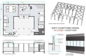 Courtyard House Designs Rezki Nasrullahrezki Nasrullah