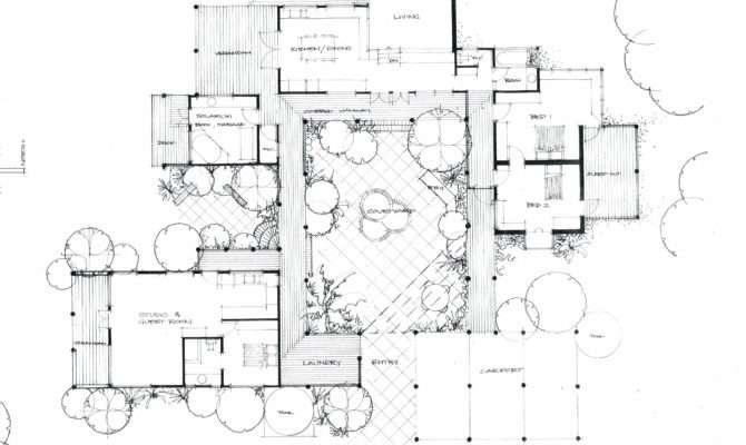 Courtyard House Heather Fraser Building Designer