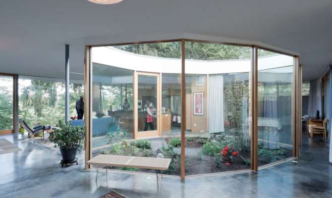 Courtyard House Noa Architecture Ideasgn