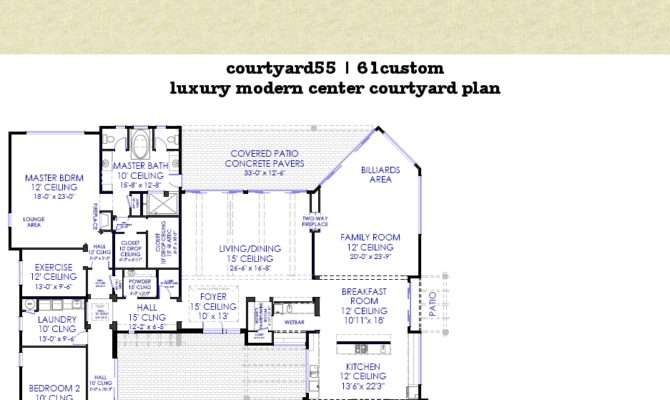 Courtyard House Plans Swfhomesalescom Best Home