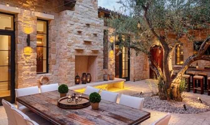 Courtyard Patio Design Ideas Remodels Photos Houzz