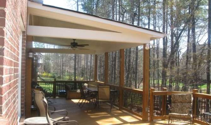 Covered Deck Designs Pinterest Plans Decks