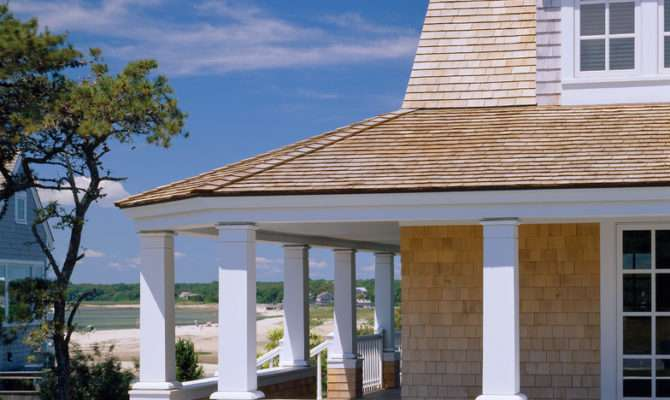 Covered Deck Designs Porch Traditional Bonnet Roof