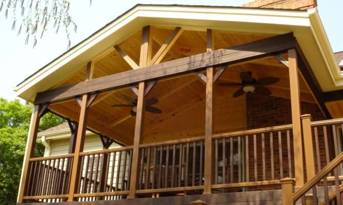 Covered Deck Plans Bing