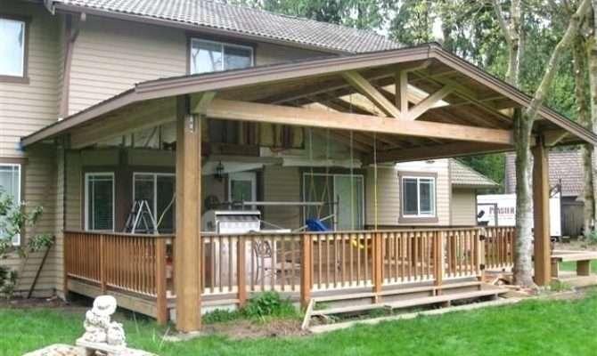 Covered Deck Plans Idea