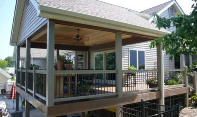 Covered Deck Plans New Interior Exterior Design