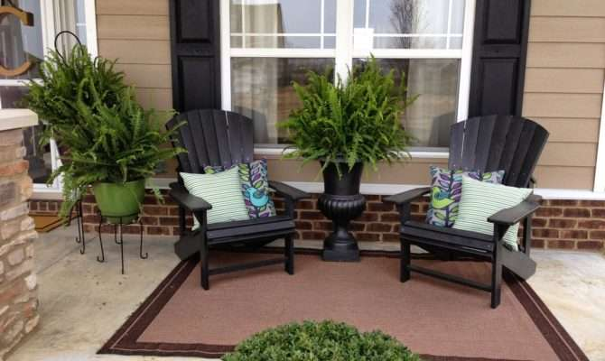 Covered Front Porch Decorating Ideas Bistrodre