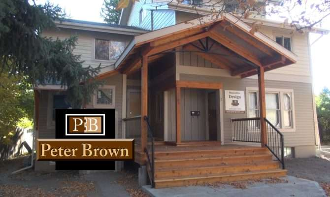 Covered Front Porch Design Bozeman