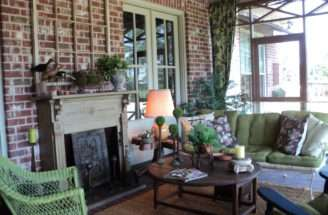 Cozy Back Porch Country French English Rustic Decor Pinterest