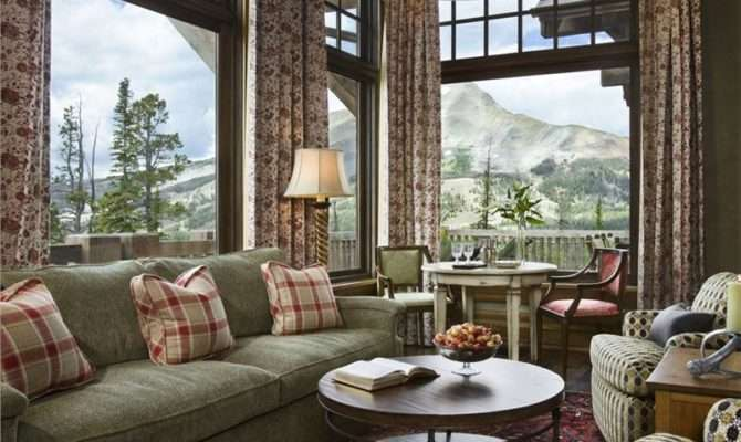 Cozy Country Rustic Living Room Jerry Locati