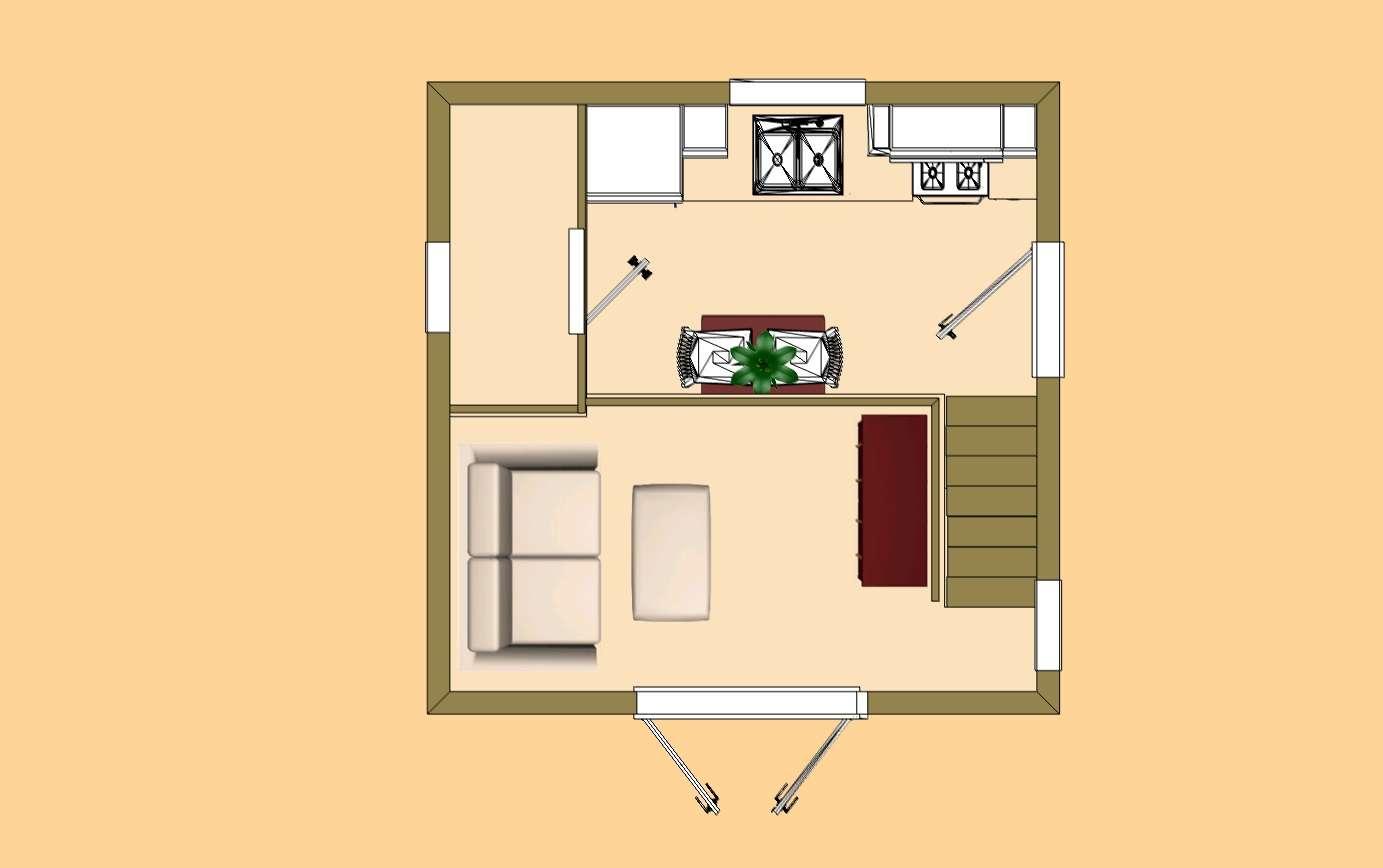 Cozy Cube Home Plans Building