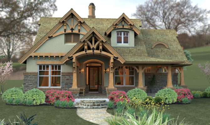 Cozy Fairytale Look Cottage Hides Date Layout