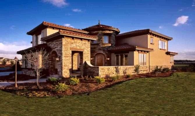Cozy Mediterranean Style House Plans Photos