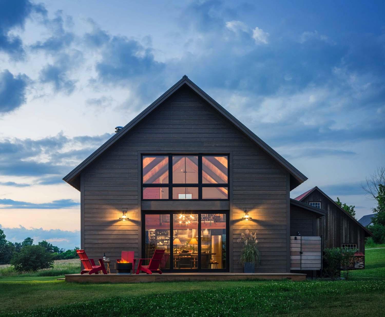 Cozy Modern Barn House Floor Plans Plan