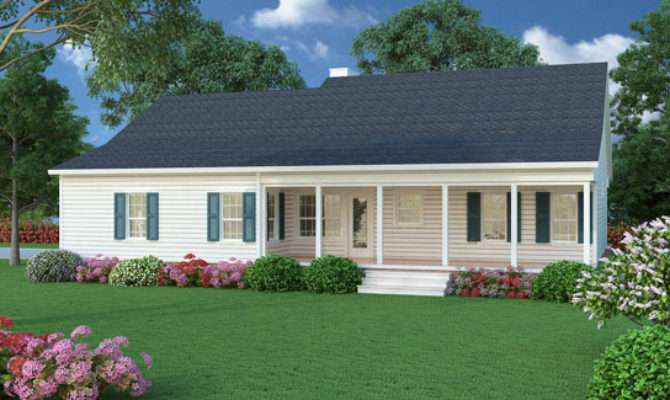 Cozy Southern Ranch House Plan Now Has Isometric
