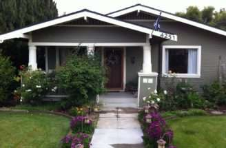 Craftsman Bungalow Front Porch Renovation Backyard Patio Pavers