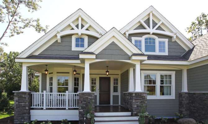 Craftsman Bungalow House Plans Lodge Style