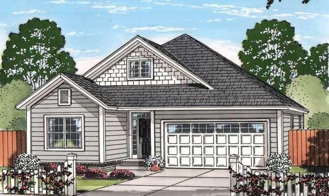 Craftsman Cottage Architectural Designs