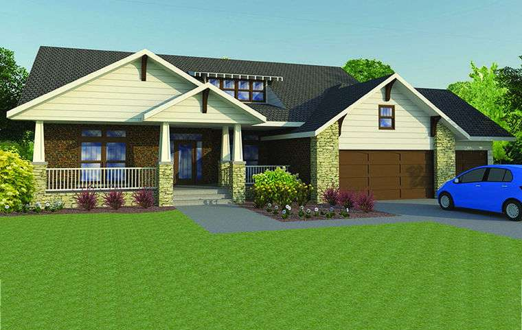 Craftsman Features Add Style Curb Appeal Ranch Fredericksburg