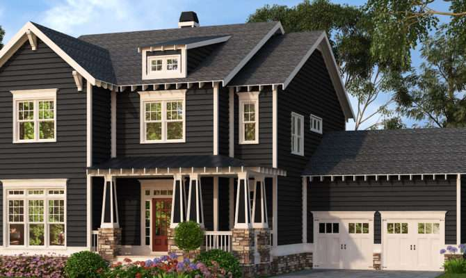 Craftsman Home Plans American Gables Designs