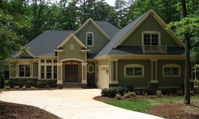 Craftsman Home Plans One Story House Plan