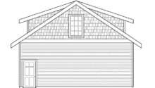 Craftsman House Plans Garage Living Associated Designs