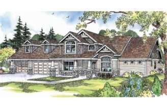 Craftsman House Plans Montego Associated Designs