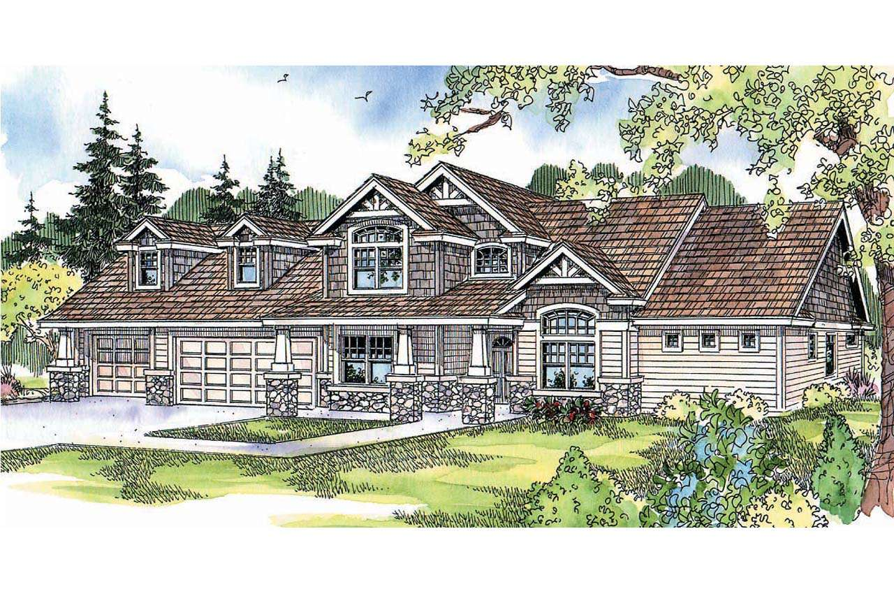 Craftsman House Plans Montego Associated Designs