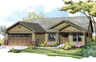 Craftsman House Plans Pineville Associated Designs