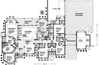 Craftsman House Plans Single Story