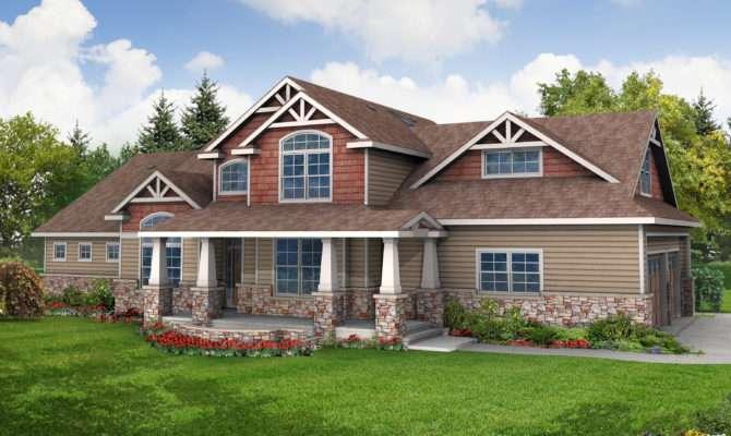 Craftsman House Plans Tillamook Associated Designs
