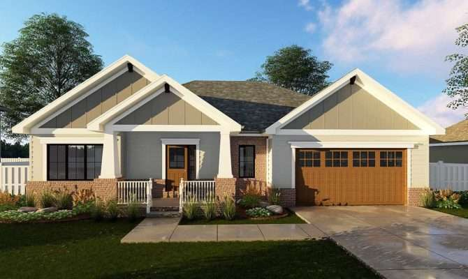 Craftsman Ranch House Plan Floor Master