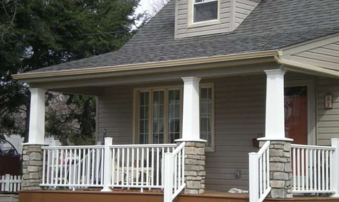 Craftsman Style Cape Cod Porch New York