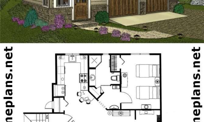 Craftsman Style Car Garage Apartment Plan Live