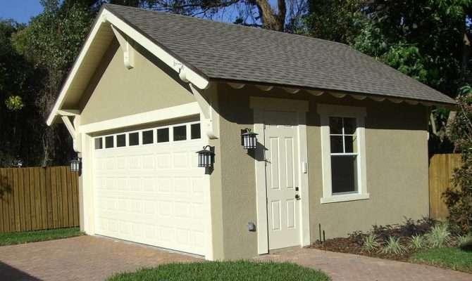 Craftsman Style Detached Garage Plan